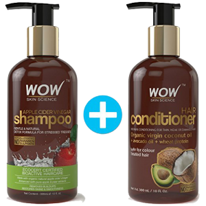 Wow Apple Cider Vinegar Shampoo & Conditioner pack