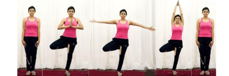Vrksasana Yoga Pose Benefits and Steps